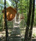 entrée cabane aux terrasses