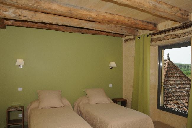 Les Chambres de la voie verte