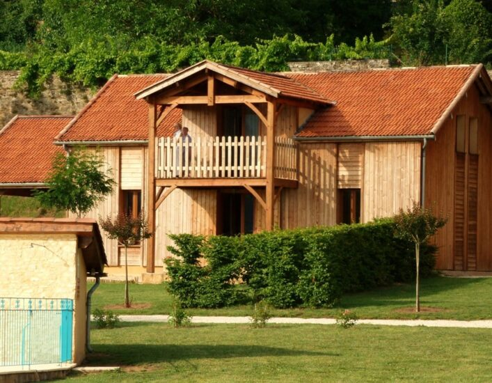 De huisjes van Fontréal