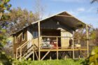 Cabane du camping la Castillonderie