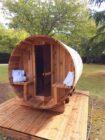 Les Plantous de Severo sauna tonneau