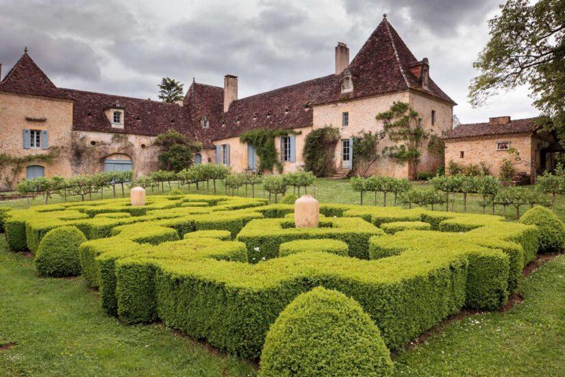 Die Gärten der Chartreuse du Colombier