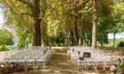 mariage dans le parc de cazenac